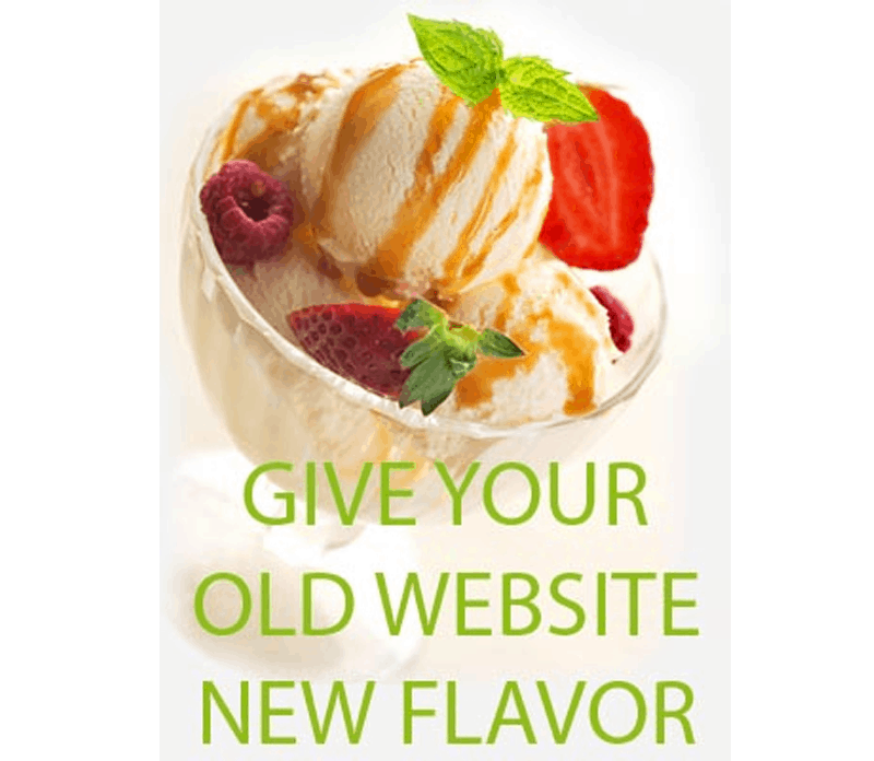 Website makeover - Website redesign